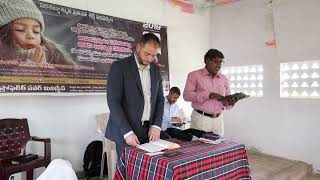 Counting the cost in persecuted India; village church Sunday sermon