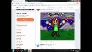 Official Twitter of Elemental Battlegrounds (Roblox)   Read Description!