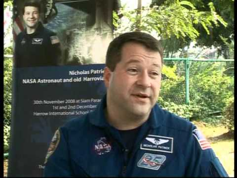 British Astronaut Nicholas Patrick Profiled on RodMcNeil.TV