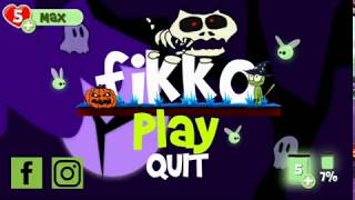 New Android Game! FIKKO HALLOWEEN (GAMEPLAY LEVEL 1)