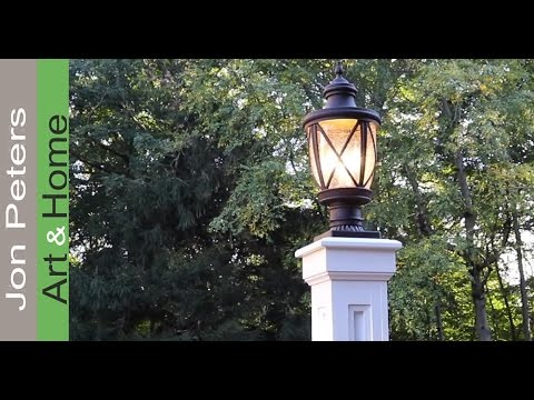 How to Build a Lamp Post, Home Improvement