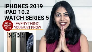 iPhone 11, iPhone 11 Pro, iPhone 11 Pro Max, iPad: Know specs, prices in India of new Apple products