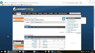 Парсер сайта sportstats.com