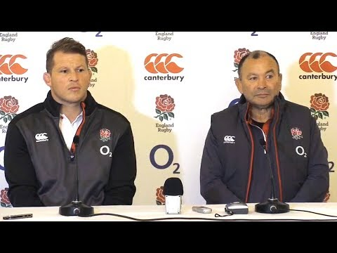 Eddie Jones & Dylan Hartley Pre-Match Press Conference - England v Ireland - Six Nations