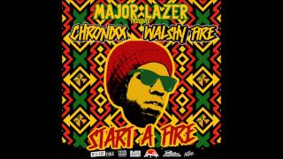 Chronixx   Start A Fyah Mixtape   04 TAKE IT EASY FREESTYLE MAJOR LAZER)