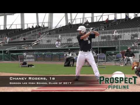 Chaney Rogers Prospect Video, Gordon Lee High School Class of 2017