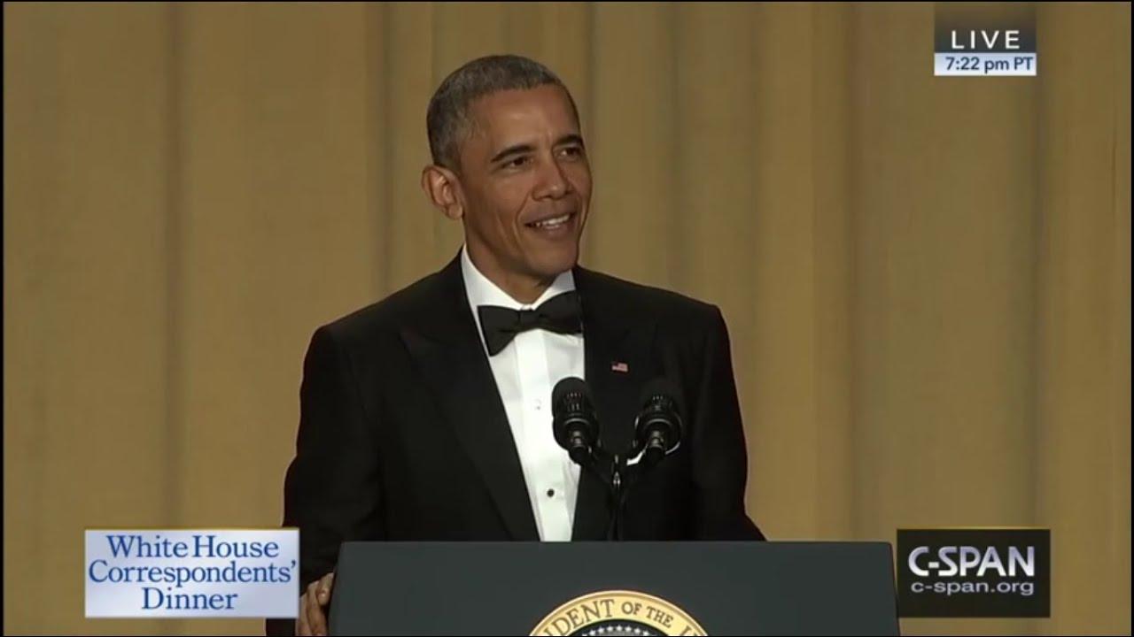 President Obama Attacks, Roasts Donald Trump at White House Correspondents' Dinner 2016 - YouTube