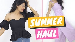 StalkBuyLove Summer/ Spring Try On Haul | Dhwani Bhatt