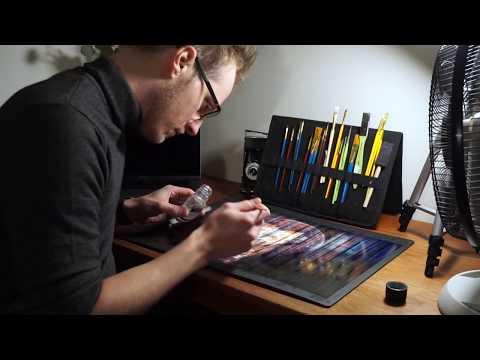How to Print and Protect Digital Artwork - Tutorial on Varnishing Digital Prints