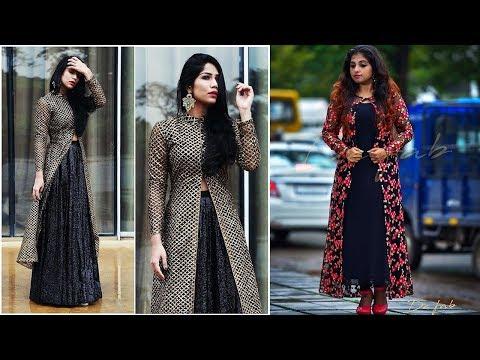 Long Koti Shrug Dress Designs 2019 | Indian Fashion 2019
