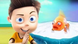 Мультфильм Ангелы Бэби - Золотая рыбка, не простая (21 серия)