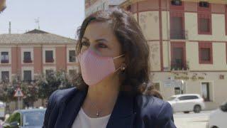 """Presidenta de La Rioja a los afectados por la tormenta: """"El gobierno estará ahí"""""""