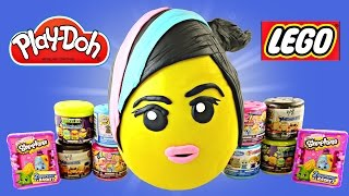 JUMBO WyldStyle LEGO Movie Play Doh Surprise Egg Frozen WWE Shopkins MyLittlePony TMNT Mashems