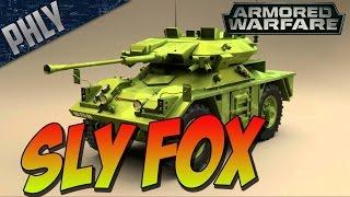 Armored Warfare - SLY FOX Gameplay & California TRIP!