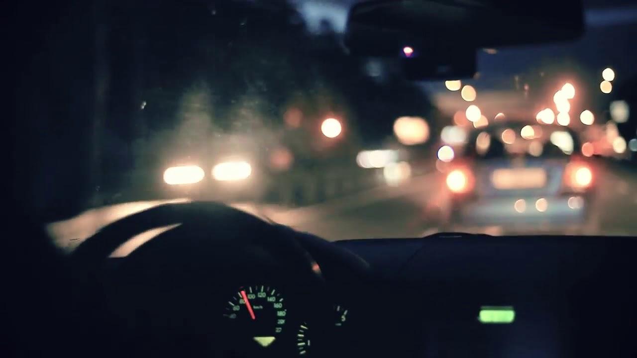 CAR DRIVING IN NIGHT CITY FREE FOOTAGE HD  МАШИНА ЕДЕТ ПО ВЕЧЕРНЕМУ ГОРОДУ #1