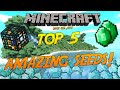 Minecraft Xbox One/PS4/PE: Top 5 Amazing Seeds! (HD)