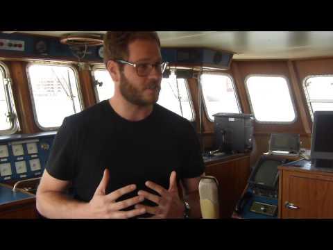 Cas Bouhof explains DAM, de alternative munt- Boat Talk Rotterdam