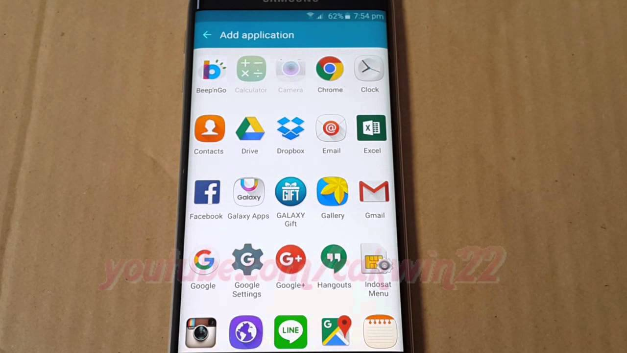 Android how to add or remove application in apps edge samsung android how to add or remove application in apps edge samsung galaxy s6 edge ccuart Choice Image
