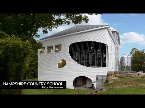 New England Architecture Design #98 | Hampshire Country School by LineSync | Rindge, New Hampshire