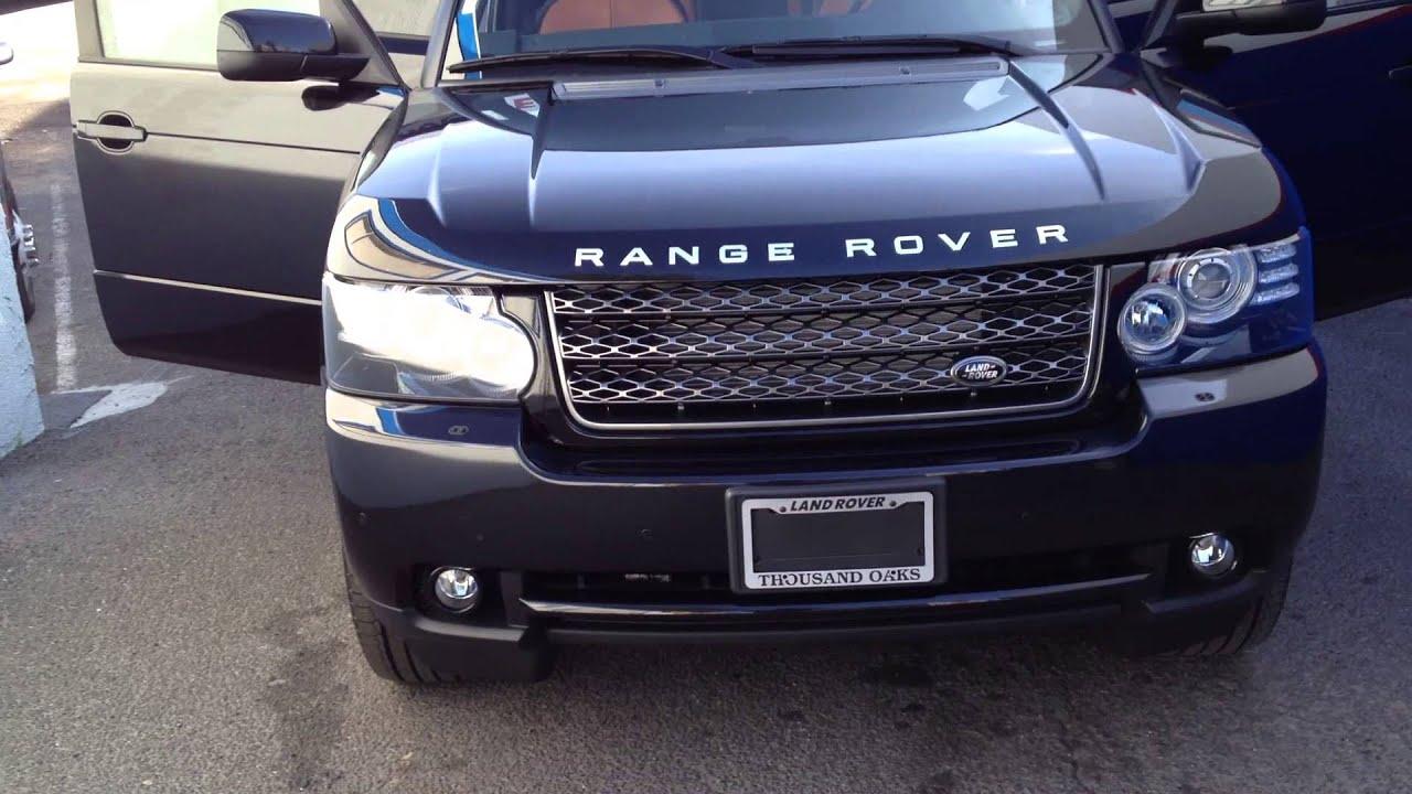 Range Rover Custom Interior
