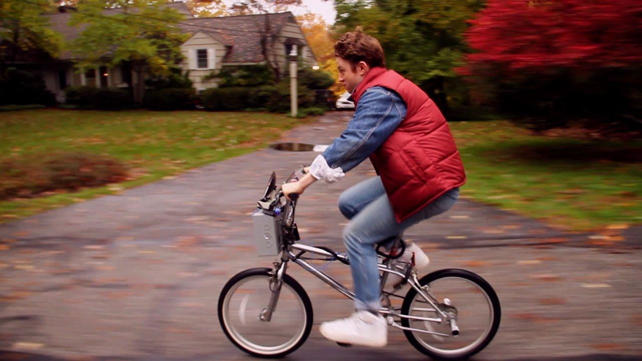 Bike To The Future Ft Taran Killam Youtube