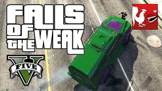 Fails and Glitches in GTA V - Fails of the Weak #243