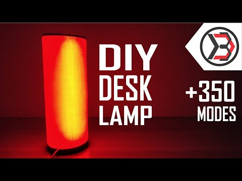 How To Make An Amazing DIY RGB Desk Lamp At Home
