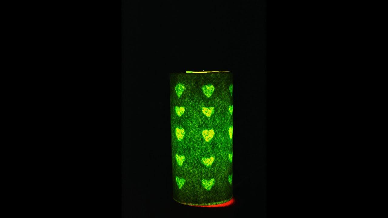 DIY: Night lamp from plastic bottle/ Christmas lamp - YouTube
