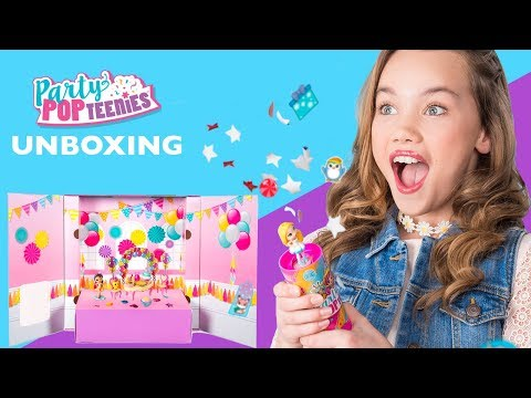 Unboxing | Party Popteenies from Spin Master