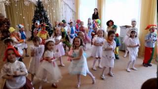 """детский танец """"Новогодние игрушки"""""""