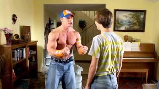 ولد المصارع جون سينا   YouTube