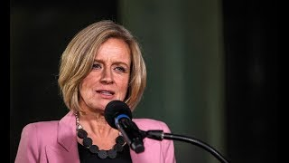 Rachel Notley announces 8.7% oil production cut to increase prices