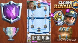 I reach 2,400 cups and give me a chest supermagico [clash royale]