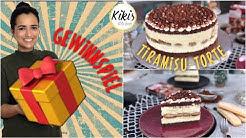 Tiramisutorte ganz ohne Alkohol / Tiramisu Torte Rezept / Löffelbiskuits Kaffeetorte