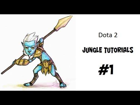 видео: (dota 2) Лесной тутор на phantom lancer