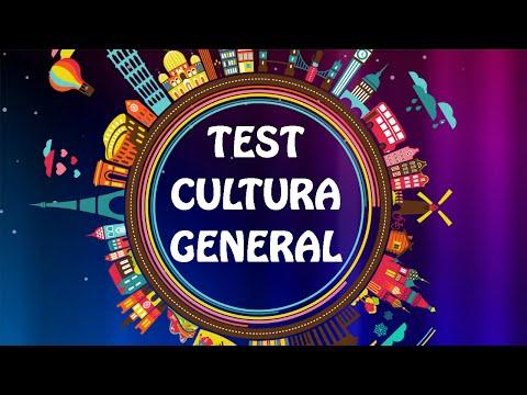 TEST De Cultura general (Capítulo 2)