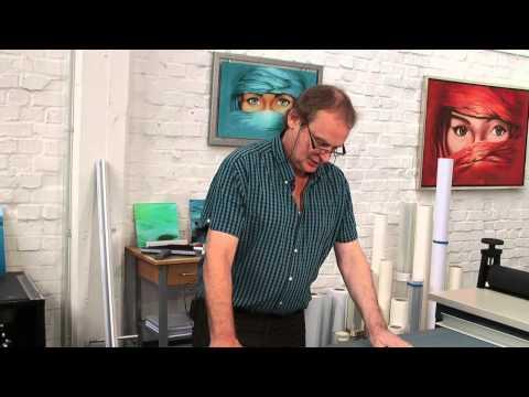 Video Guide Laminator 11 - Mounting prints behind acrylic