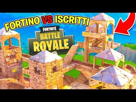 Fortnite ITA  IL NOSTRO FORTE VS 96 ISCRITTI!