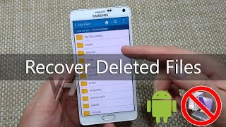How to Recover Deleted Files From Android Phone thumbnail