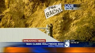 Repeat youtube video Sneaking On The HOLLYWOOD SIGN!