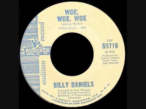 Billy Daniels - Woe, Woe, Woe