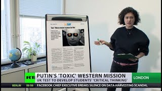 'Most dangerous leader since Hitler'? UK educational site asks students about Putin