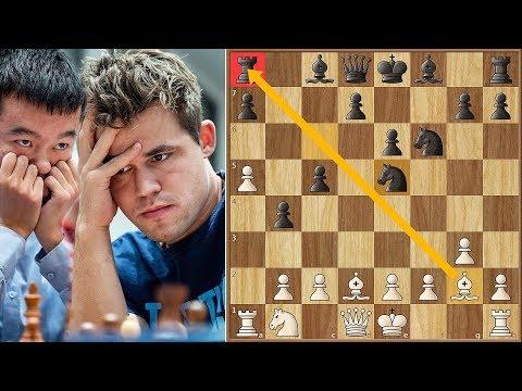 King Magnus vs King Liren | Tata Steel Masters (2019)