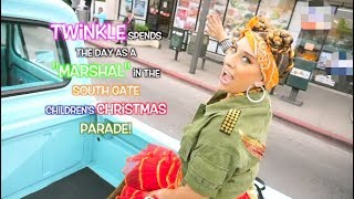 Twinkle Grand Marshal In South Gate Children's Christmas Lane Parade [TwinkleTime] | Kid Show Vlog!