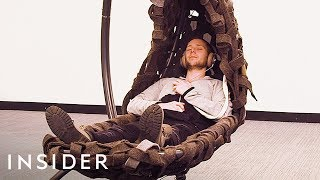 We Tried A Cocoon Pod To Reduce Office Stress