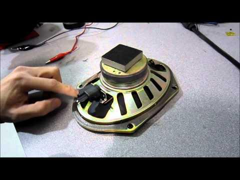 Checking for Positive & Negative on a Speaker (Speaker Polarity)