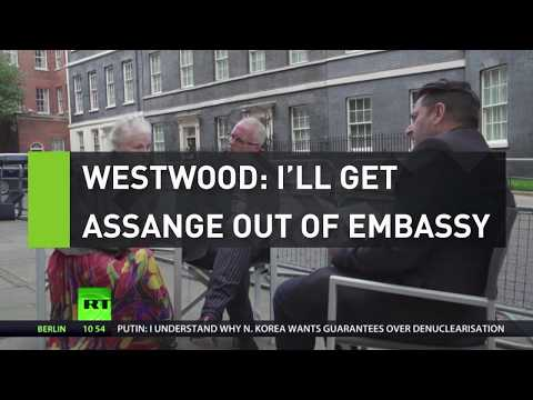 Westwood: I'll get Assange out of the embassy