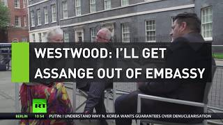 Westwood: I\'ll get Assange out of the embassy