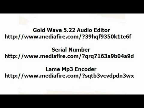 Gold Wave Audio Editor 5.22