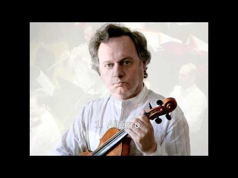 J.S. Bach: Concerto for violin and orch. - A. Brussilovsky - violin, Simfonieta - dir. A.S. Vujic